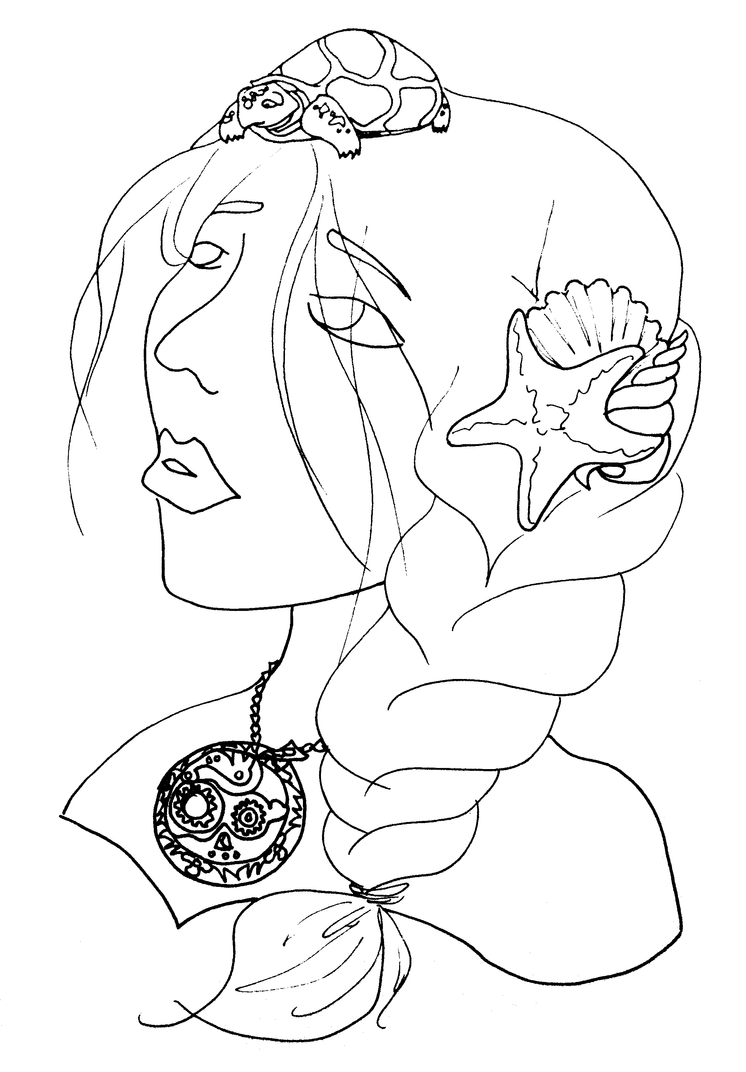 Luna Lovegood Coloring Pages