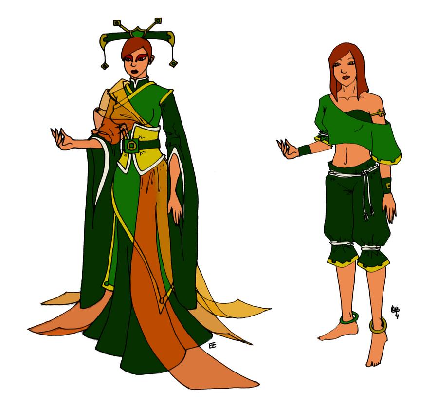Earth Kingdom Eva by EnigmaticEmpress