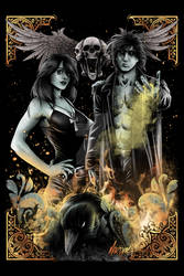 SANDMAN - MORPHEUS AND DEATH