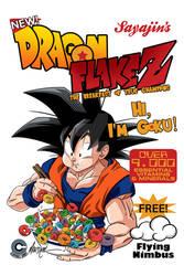 GOKU DRAGON FLAKE Z