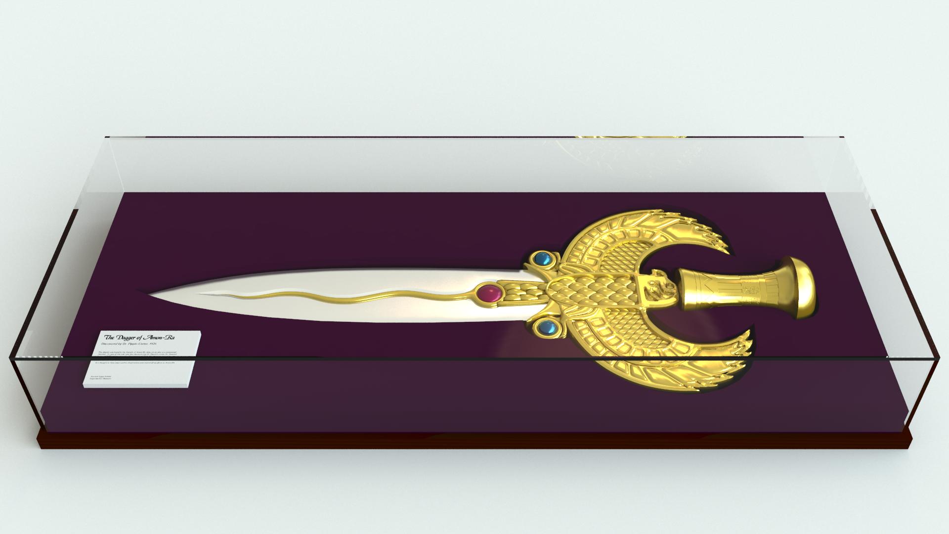 The Dagger Of Amon Ra By Ilvidel On DeviantArt