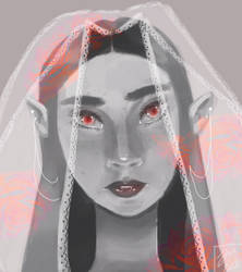 Vampire Bride by spearmintdragon