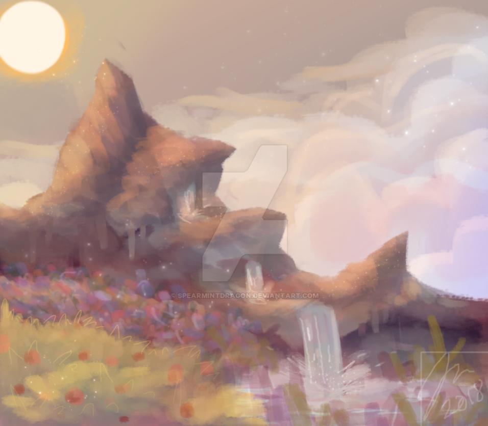 Mountain Springs by spearmintdragon