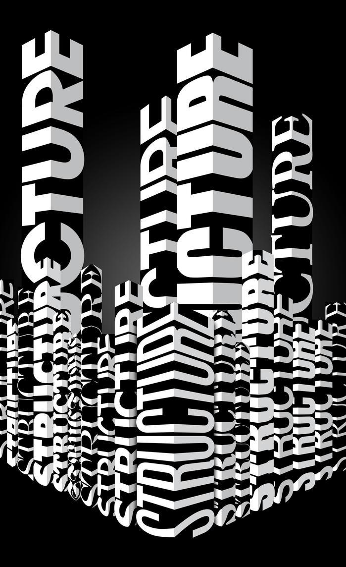 Structure Poster by grafikdzine