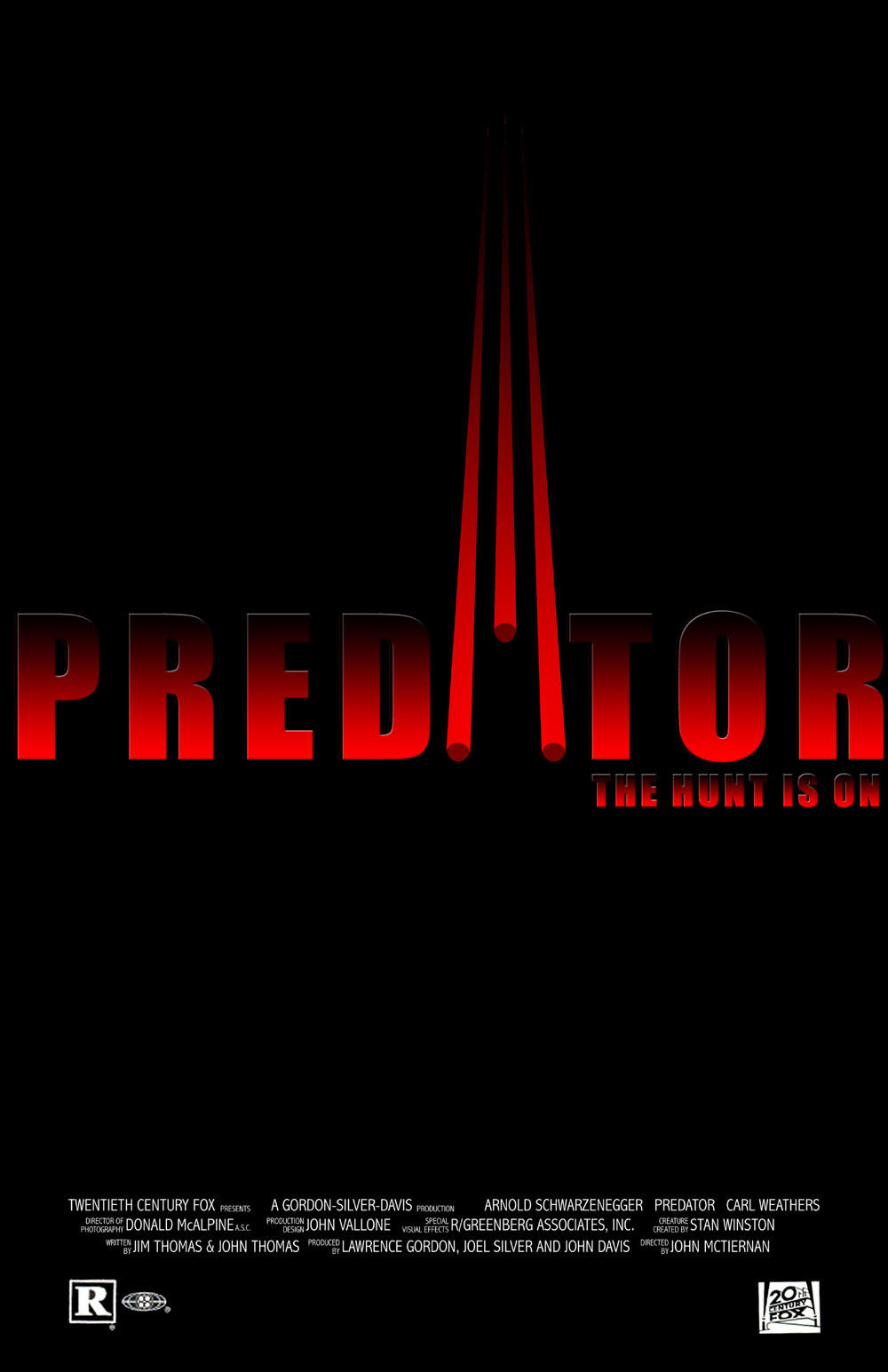 Predators Movie Logo Predator Movie Poster by