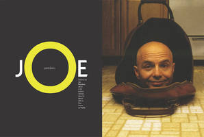 Joe Pantoliano Feature Spread by grafikdzine