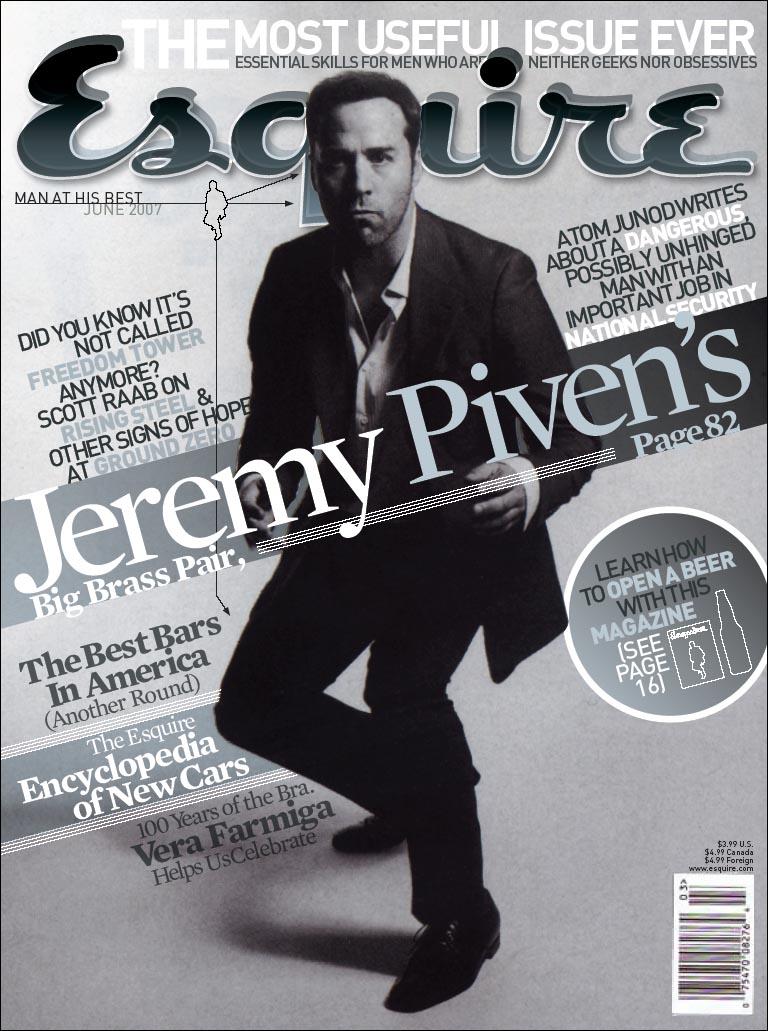 Esquire Dummy Cover by grafikdzine