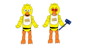 Chica's New Color
