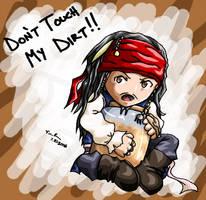 Cap'n Jack Sparrow by Kuroneko13