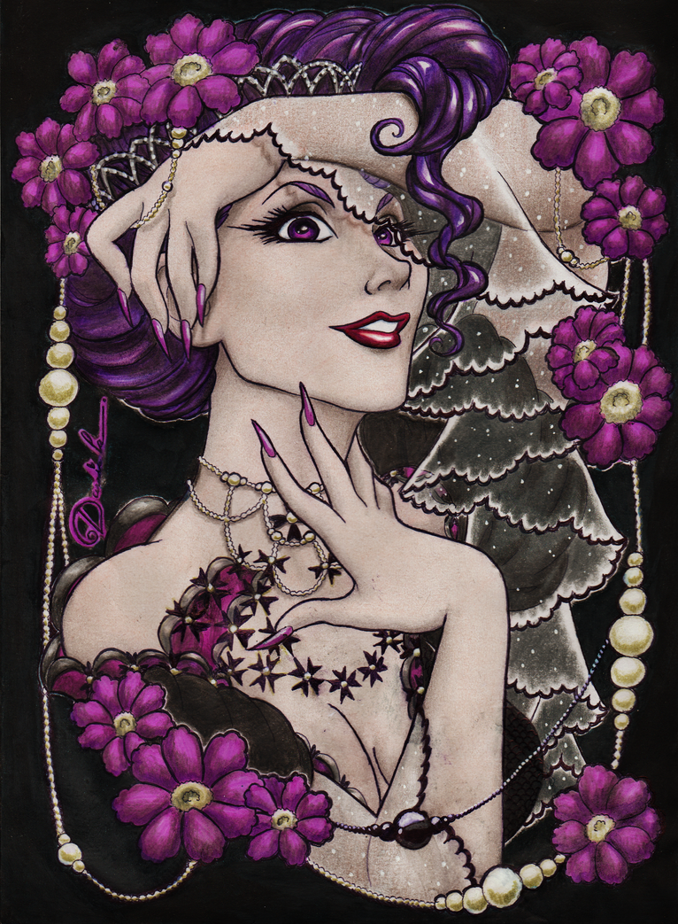 Dark Lilac by DanielaAparecida