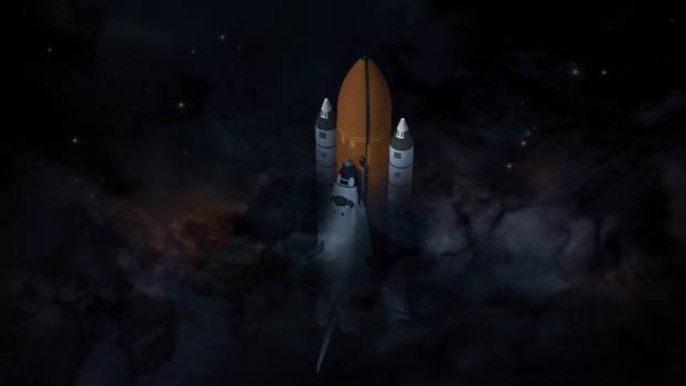 Departure Celestial Scenery