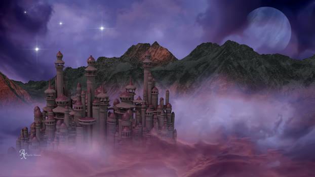 Sky City Celestial Scenery