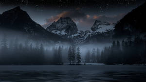 Dark Mountain Scenery