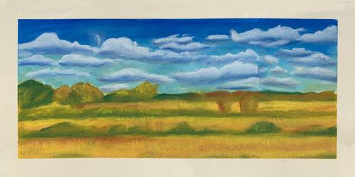 45-Minute Pastel Landscape (2021)