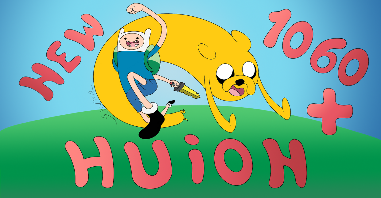 Finn and Jake - Drawing with Huion New 1060 Plus by Gurock