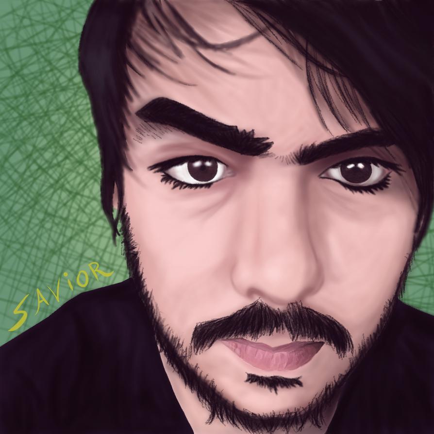 My Self Portrait by Gurock