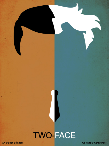 Minimalism two face by gotrei on deviantart for Minimal art face
