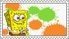 Nicktoons - Freeze Frame Frenzy Spongebob Stamp by retrogamer406