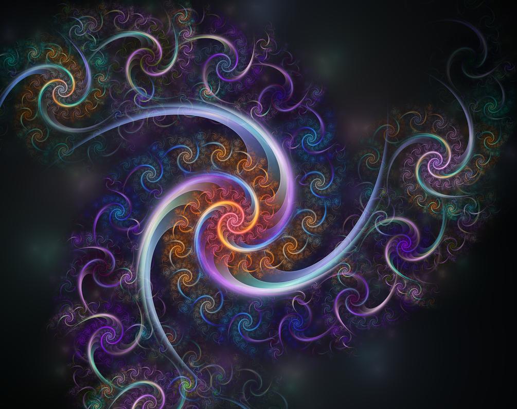a rainy day spiral by etomchek