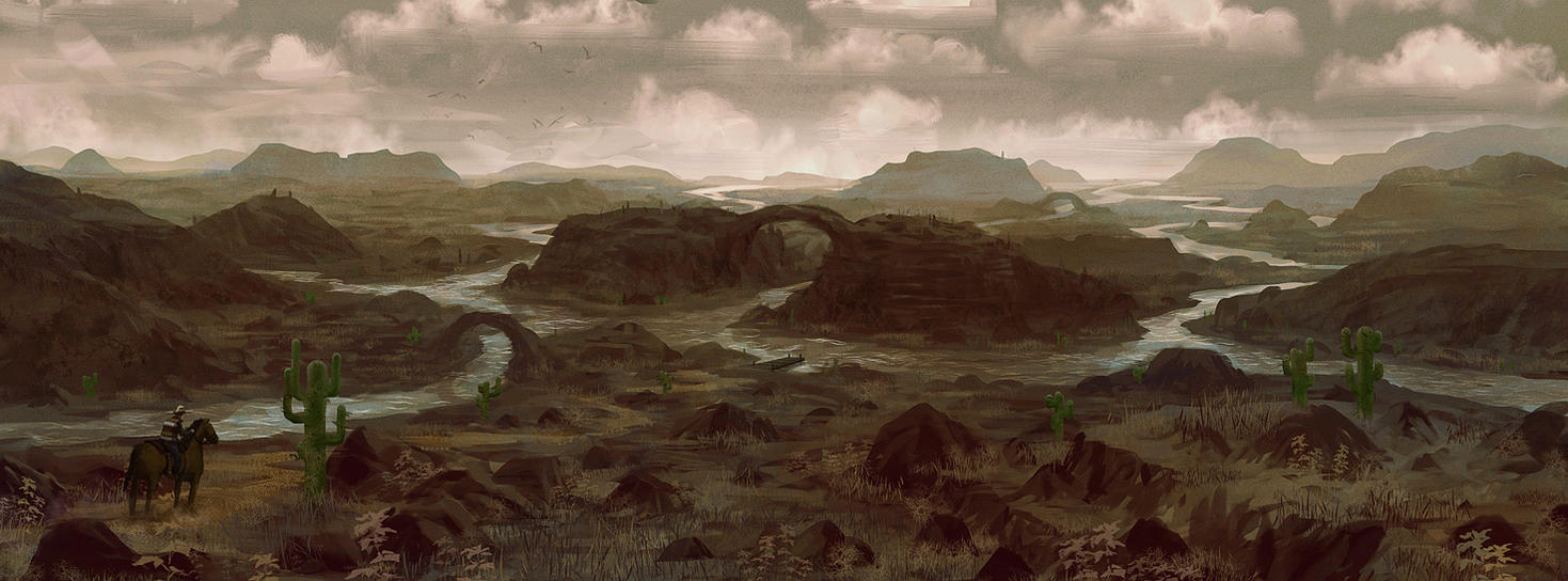 Red Dead Redemption Landscape Wallpaper