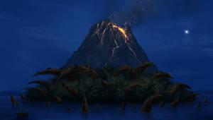 Blue Volcano