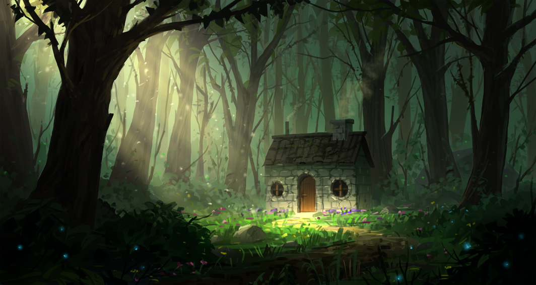 House in the woods by joakimolofsson on deviantart - The house in the woods ...