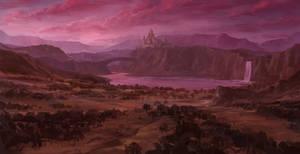 Pink Purple Sky