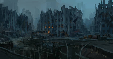 Wasteland by JoakimOlofsson