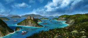 Pirate Stronghold (Video Process)