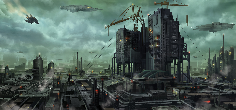 Space Factory by JoakimOlofsson