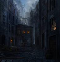 Medieval Town by JoakimOlofsson