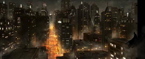 Dark Knight by JoakimOlofsson