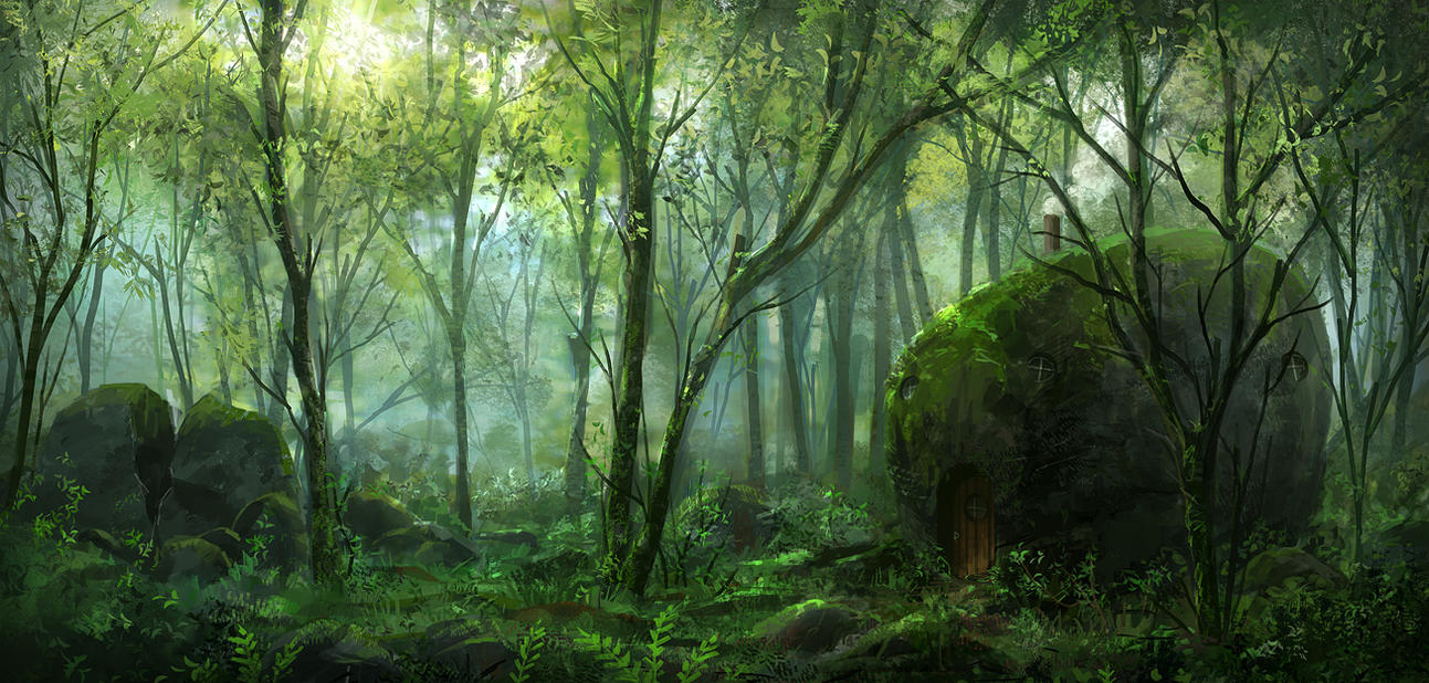 fantasy forest story animals