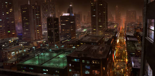 Night Time by JoakimOlofsson