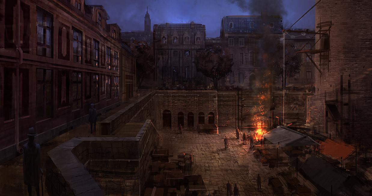 Camp Fire by JoakimOlofsson