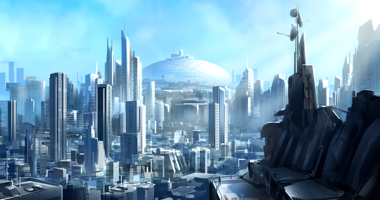 Blue City by JoakimOlofsson