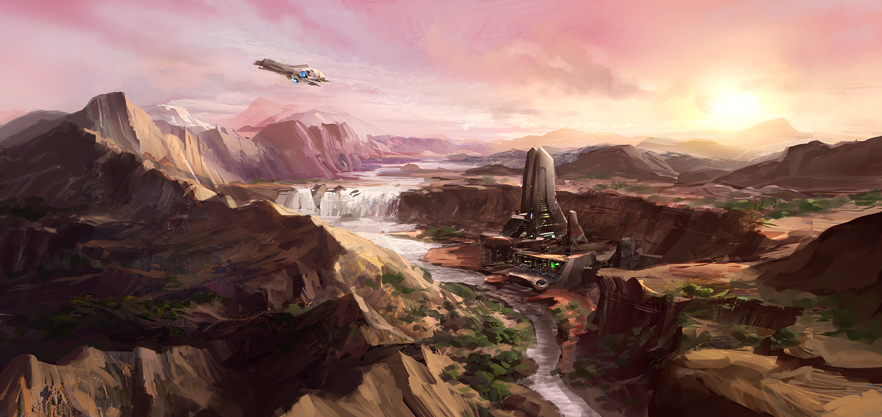 Desert Planet by JoakimOlofsson