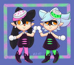 Squid Sister Villagers