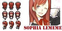 BW Sprite Request - Sophia Lememe by AzureAquarian