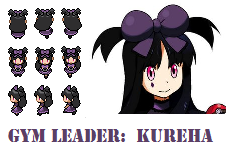 BW Sprite Request - Kureha by AzureAquarian