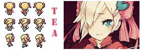 BW Sprite Request - Tea by AzureAquarian
