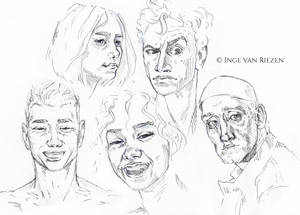 Face and expression studies