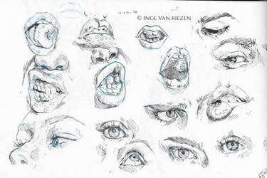 Eye and mouth studies