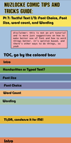 Nuzlocke Comics Guide: Text pt 1