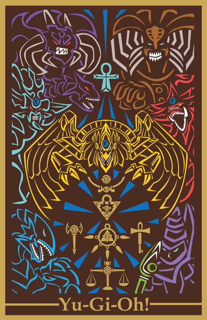 yugioh poster of the millenium by oddpenguin on deviantart