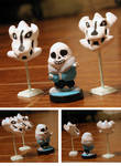 Custom Sans Amiibo - Undertale by OddPenguin