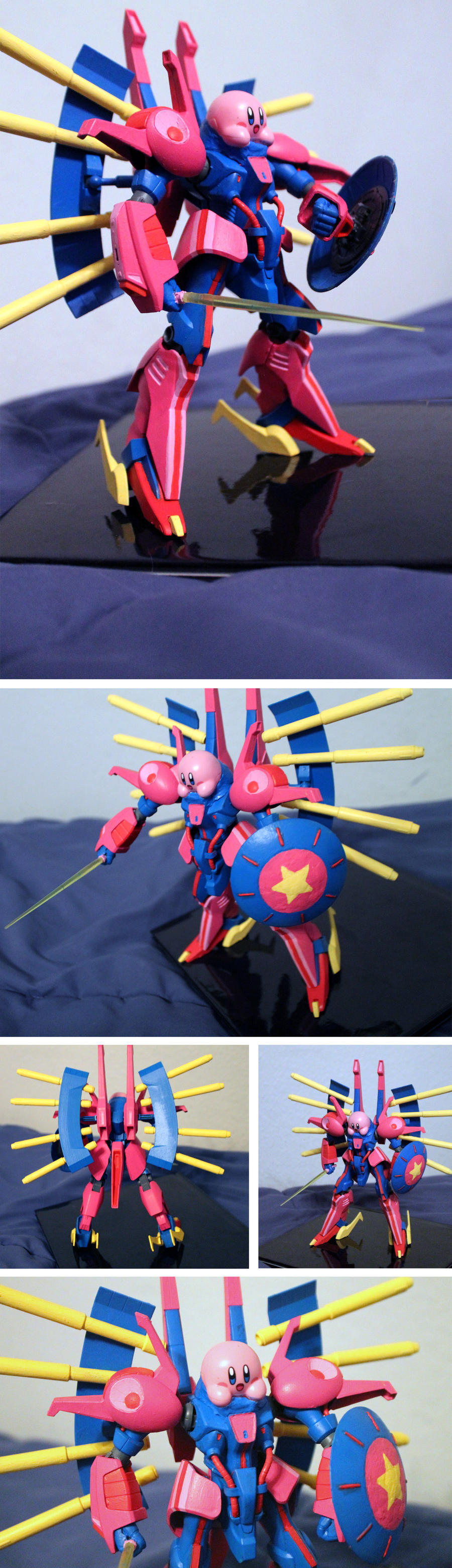 Custom Gunpla: Palace Kirby by OddPenguin