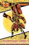 Kamen Rider Gaim Poster: Kachidoki Arms