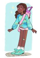 my favorite swordsgirl by flaweiss