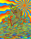Psychedelic Rainbow Trout